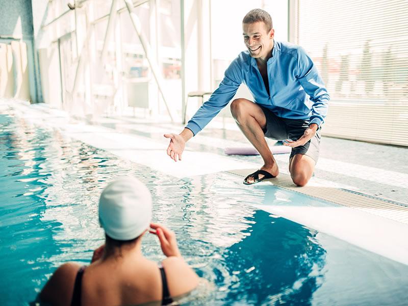centre aquatique - cours aquagym - cours particulier natation