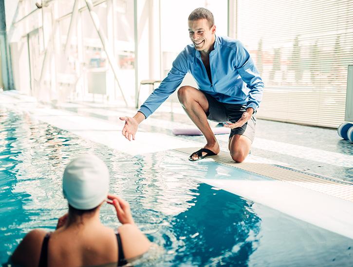 cours de natation adulte - cours de natation débutant - cours aquaphobie