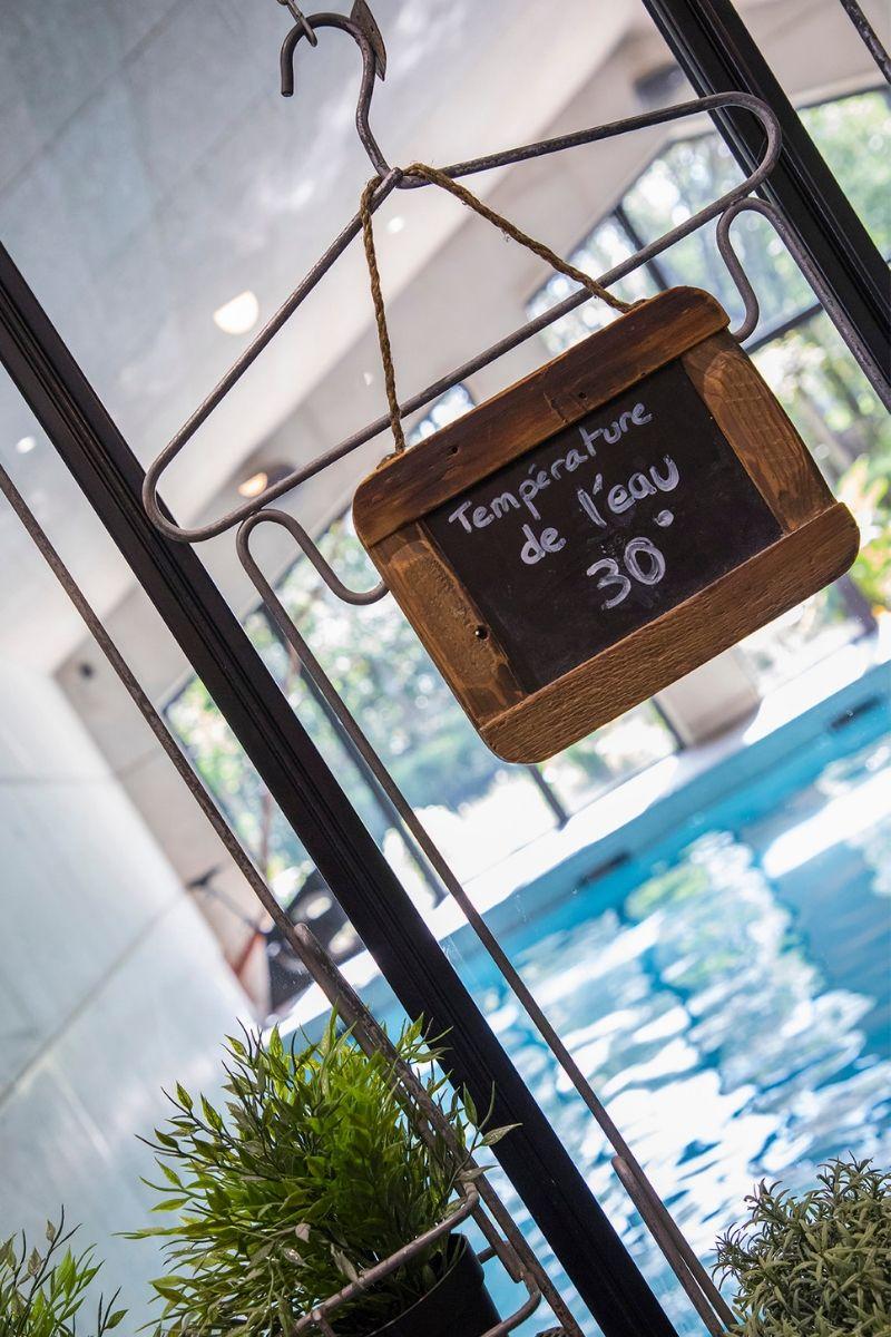 aquapassion-température chaude piscine
